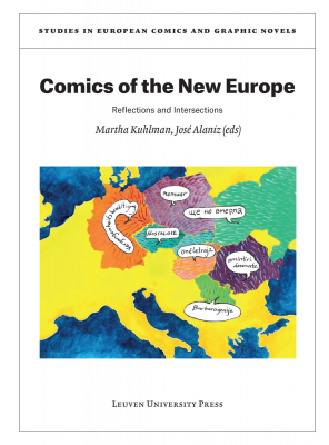 Cover of book Comics of the New Europe.