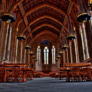 Interior of Suzzallo Library