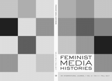 Feminist Media Histories journal cover