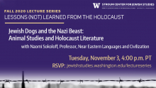Lessons Not Learned From the Holocaust
