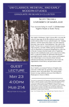 Flyer for Scott Trudel lecture