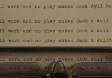 frame from The Shining (Kubrick, 1980)