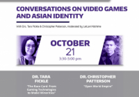 Fall Colloqia Video Games and Asian Identity