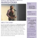 Manishtana lecture flyer