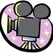 movie camera graphic